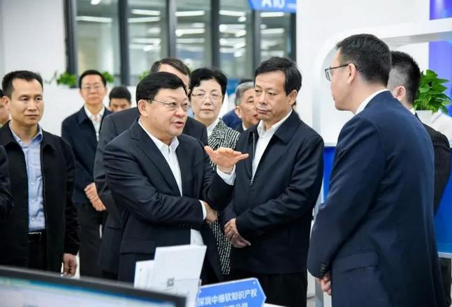 深圳市委书记王伟中调研知识产权工作,中细软发展模式备受关注